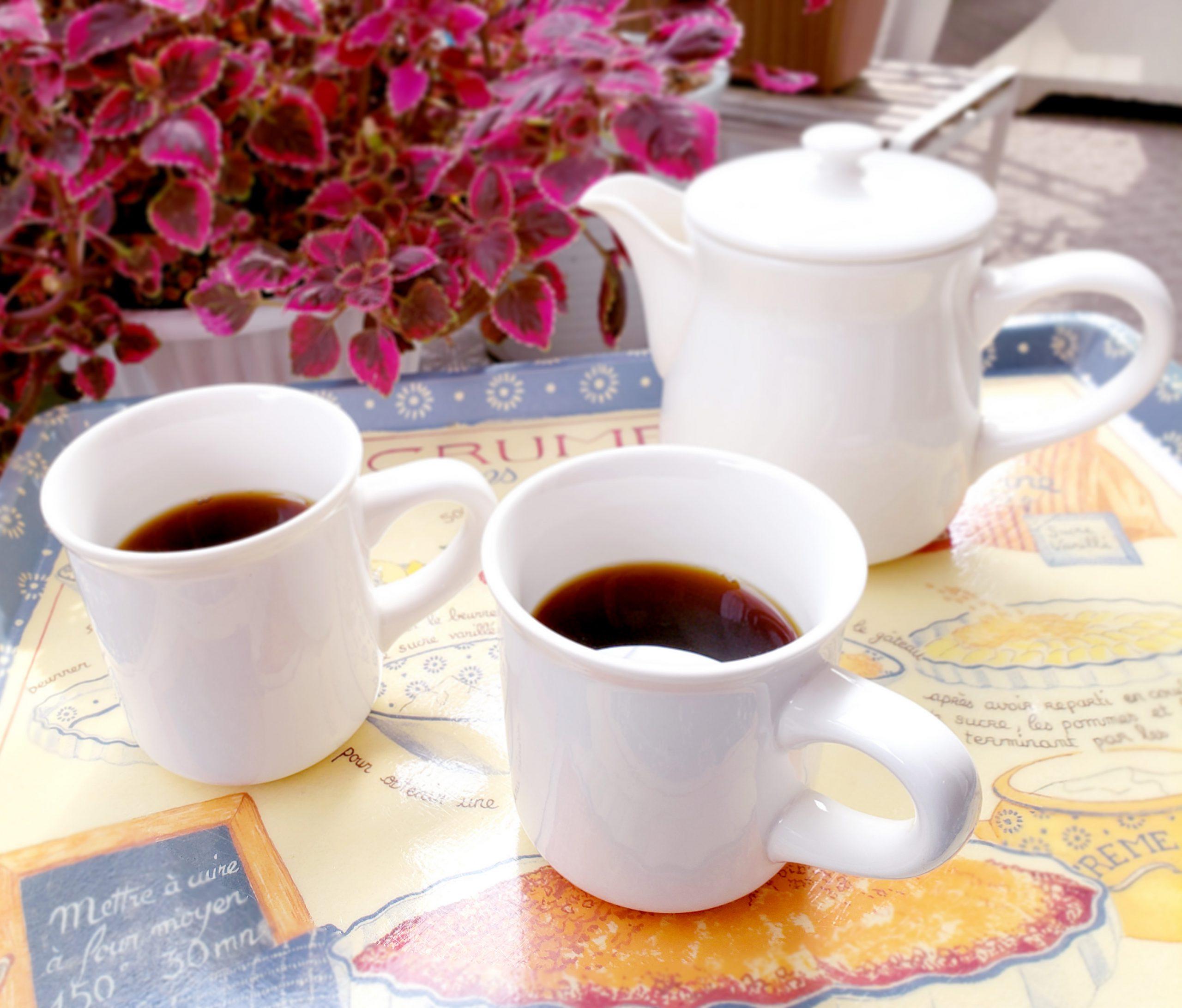 コーヒーを淹れて楽しみませんか?